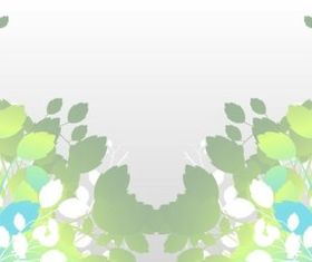 Stylized Leaves Illustration vector
