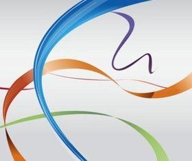 Colorful Ribbon Set vector