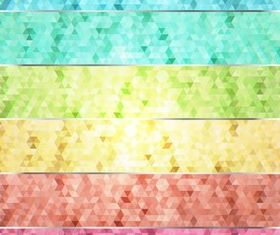 Mosaic Backgrounds 8 vector