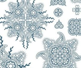 Ornate Floral Elements (Set 17) vector graphics