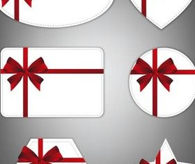 White Holidays Cards Art creative vector