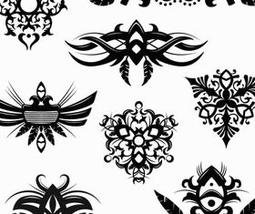 Stylish Tatoo free 17 vector