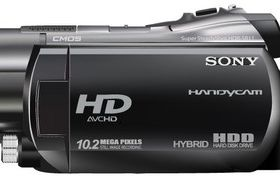 Sony Handycam HDR SR11 Illustration vector graphic