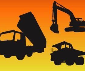 Construction Vehicle vectors graphics
