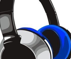 Free Headphones Art vector