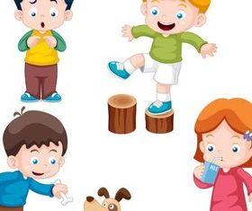 Cute Children vector