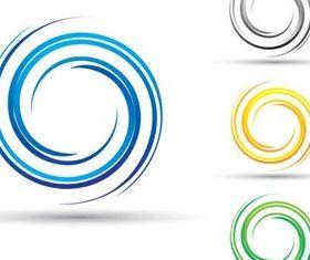 Round Creative Logo 2 vector