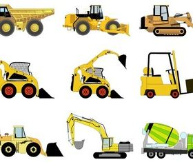 Free Construction Machines Vector Pack 1 vector