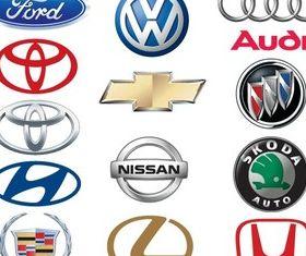 Famous Car Brand Logos vectors