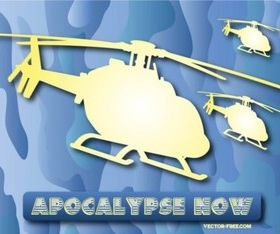 Free Helicopters vector graphics
