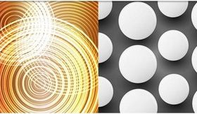 Abstract Style Backgrounds 25 vector