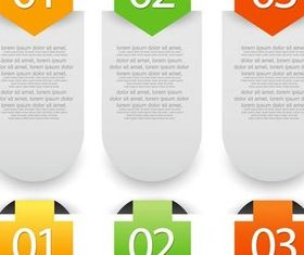 Option Banners 2 vector graphics