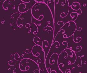 Curls Pattern vector