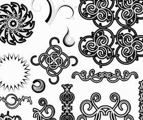 Floral Designs Free vector