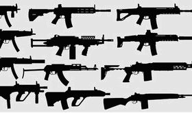 Weapons Pack Free-2 vector