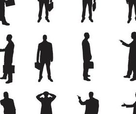 Business People 4 vectors material