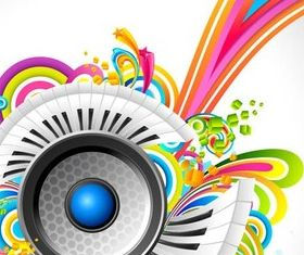 Music Style Backgrounds 35 design vectors