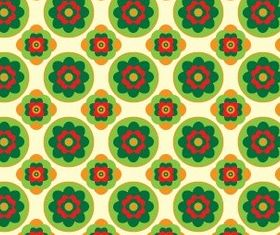 Flower Graphic Pattern set vector