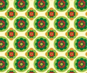 Flower Graphic Pattern set vector
