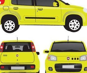 Fiat Uno Image vector