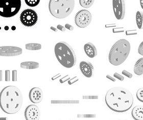 Cogwheels Graphics vector