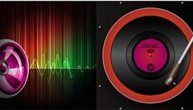 Music Style Backgrounds 34 vector material