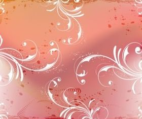 Floral Composition background vector