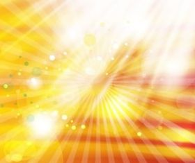 Gold Light Rays Background vector