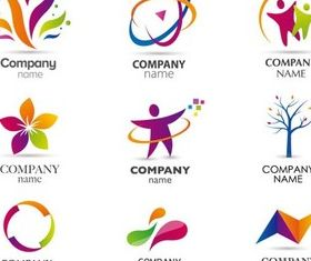 Color Creative Logo vector