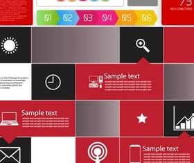 Infographic Elements 3 set vector