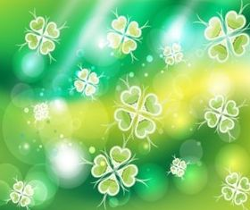 Green Clover Background Image vectors