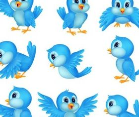 Twitter Icons free vectors