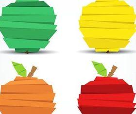 Creative Apple Elements art vector