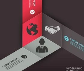 Infographics Backgrounds 2 vector graphics