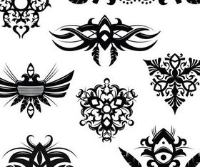 Stylish Tatoo 15 vector