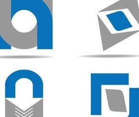 Color Abstract Logo 2 vectors graphics