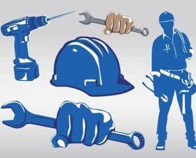 Work Tools vector