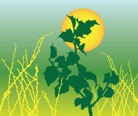 Foliage Graphics creative vector