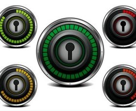 Security Shiny Icons art vectors graphics