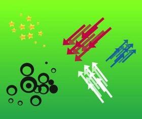 Simple Design Elements vectors graphics