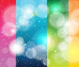 Rainbow Stripes Galaxy background vector