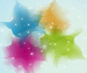 Color Sparkles Background Image vector graphic