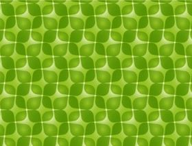 Green Retro Pattern vector