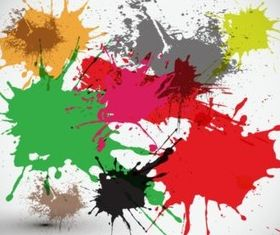 Splashes Art vector graphic