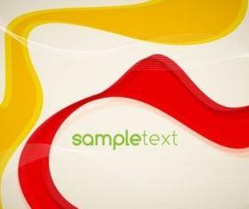Gold Swirl Cream Background vector
