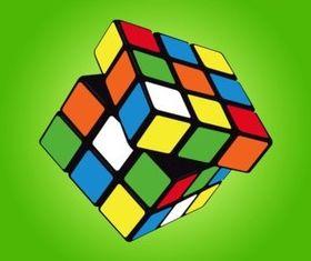 Rubik Cube vectors graphic