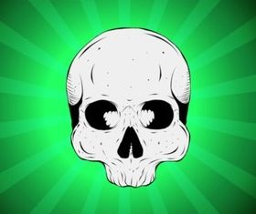 Absin Skull vector