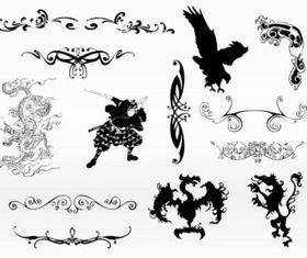 Cool Tattoo Designs vector