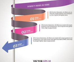 Infographic Backgrounds 33 vector
