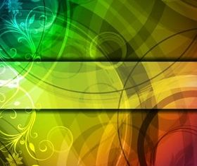 Abstract Style Backgrounds 20 vector